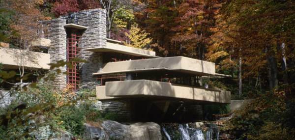 Biệt thự trên thác (Fallingwater), Hoa Kỳ.