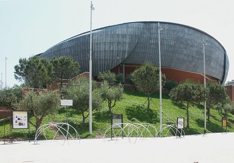 Công trình Auditorium Parco della Musica.