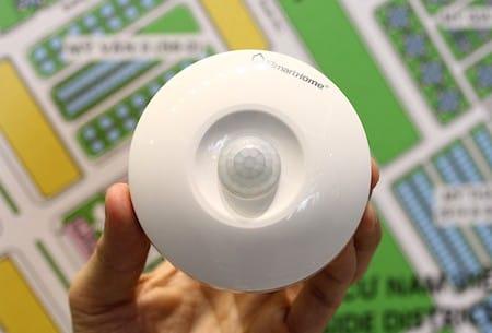 """Thiết bị bật đèn cảm ứng SH – DZ sở hữu thiết kế """"phi thuyền không gian"""""""