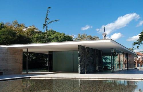 Barcelona Pavilion.