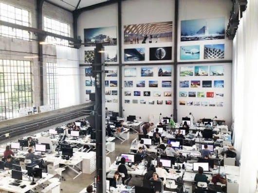 Văn phòng của BIG. Hình ảnh © BIG-BjarkeIngels Group