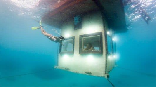 Những công trình kiến trúc ấn tượng dưới nước