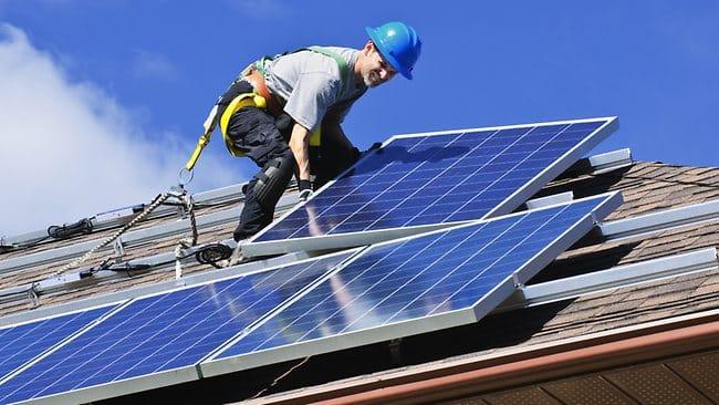 điện mặt trời, nổi trên nước, xu hướng, nhà máy, năng lượng