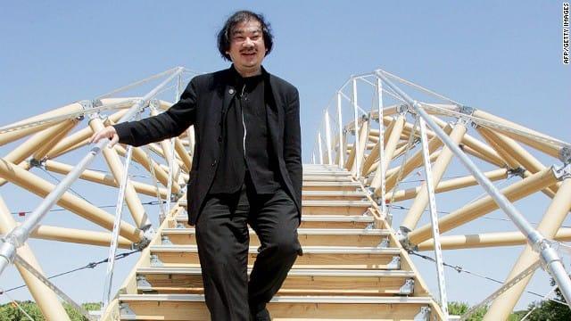 Kiến trúc sư Nhật Bản Shigeru Ban, chủ nhân giải Pritzker năm nay.