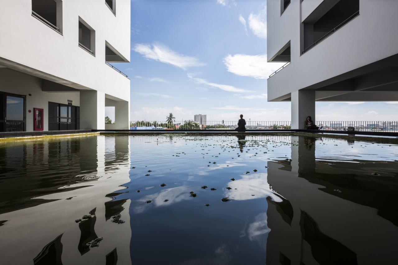 UAH campus,© Hiroyuki Oki