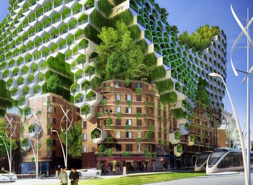 Các 'tháp tổ ong' được tăng gấp đôi chiều cao của nhà ở hiện có tại thành phố