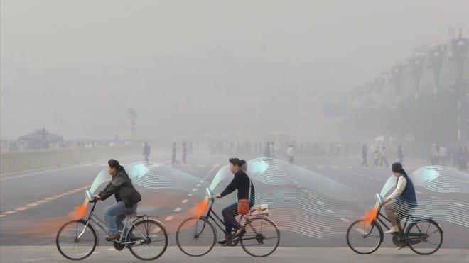 Xe đạp lọc không khí sắp có mặt ở Trung Quốc