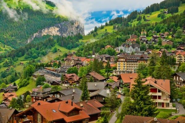 Nếu Sapa là điểm đến ưa thích của bạn, hãy thử đến thành phố Wengen của Thụy Sỹ, không tồi chút nào đâu.