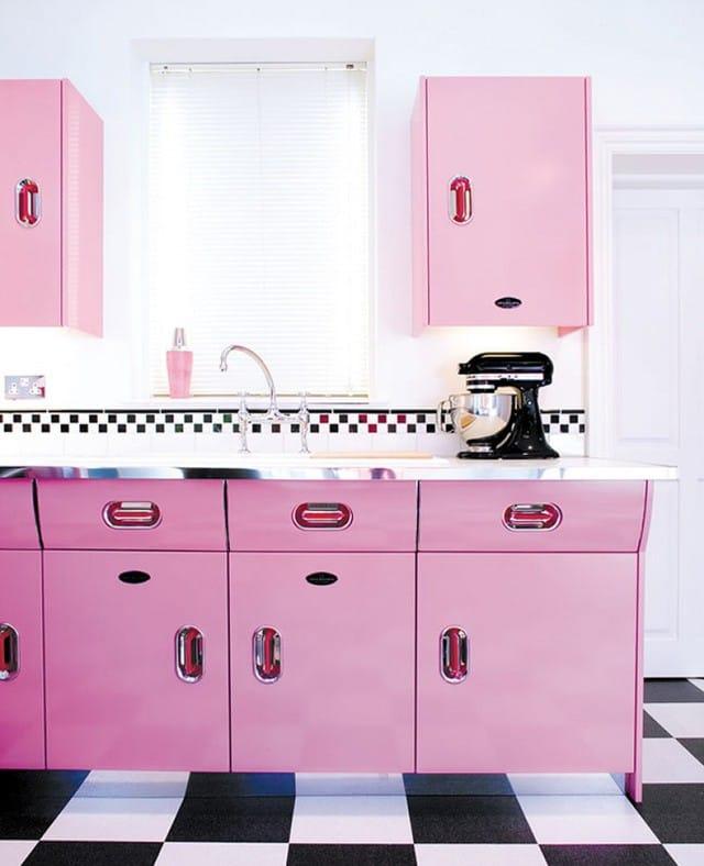 Tủ bếp đẹp ấn tượng.