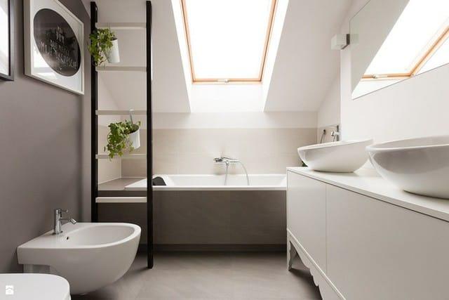 6. Trần thấp luôn là một bất lợi khi thiết kế căn phòng gác mái, do đó sơn trắng luôn được yêu thích sử dụng để tạo hiệu ứng về chiều cao.