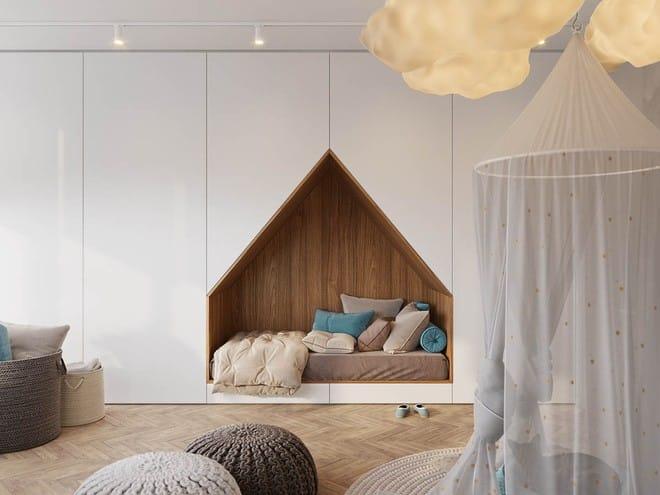Những mẫu phòng ngủ đẹp mê ly như thế giới thần kỳ dành cho trẻ nhỏ - Ảnh 1.