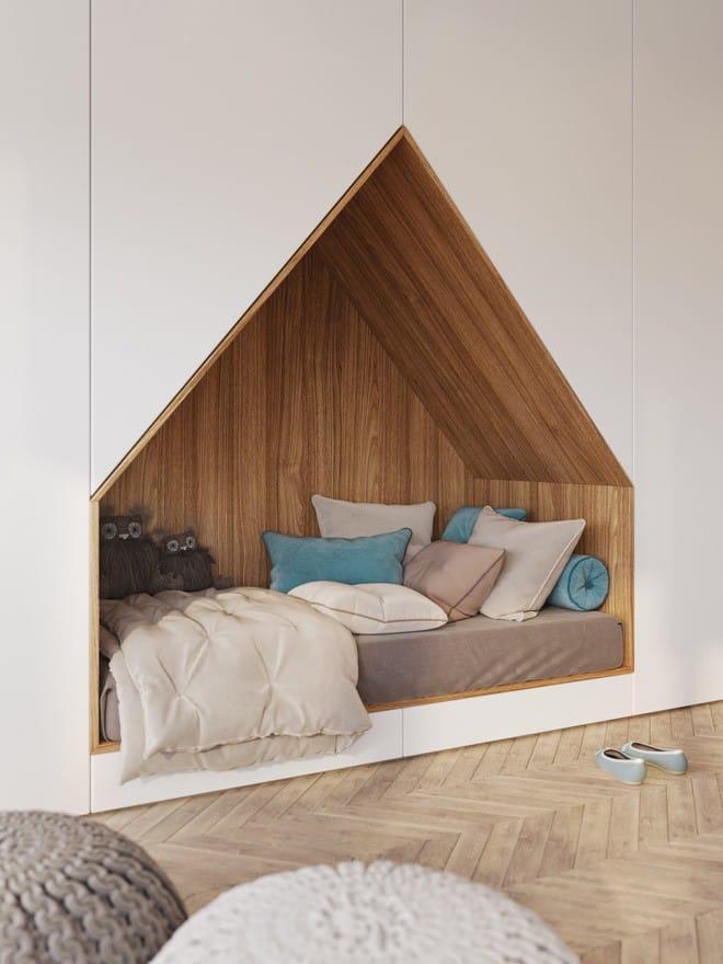Những mẫu phòng ngủ đẹp mê ly như thế giới thần kỳ dành cho trẻ nhỏ - Ảnh 7.