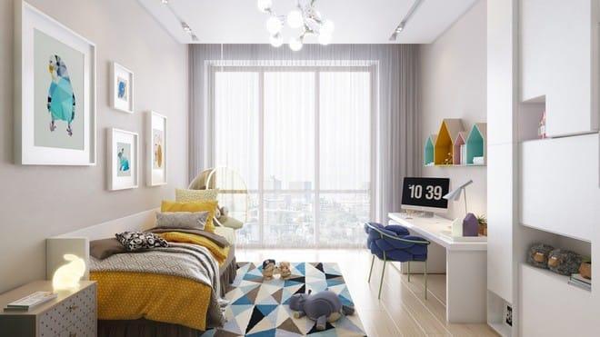 Những mẫu phòng ngủ đẹp mê ly như thế giới thần kỳ dành cho trẻ nhỏ - Ảnh 12.