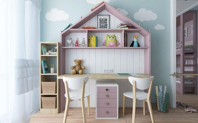 Những mẫu phòng ngủ đẹp mê ly như thế giới thần kỳ dành cho trẻ nhỏ - Ảnh 18.