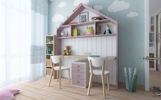 Những mẫu phòng ngủ đẹp mê ly như thế giới thần kỳ dành cho trẻ nhỏ - Ảnh 19.