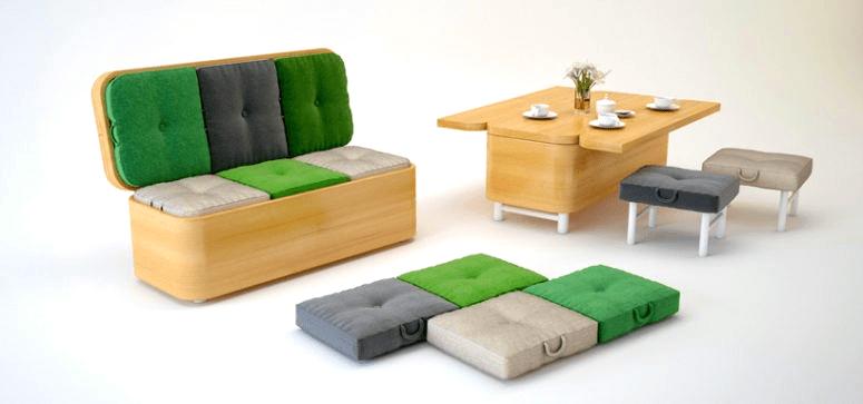 """Những đồ nội thất đa năng """"chuẩn"""" cho phong cách thiết kế hiện đại"""
