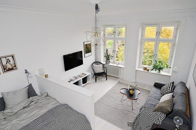 Căn hộ nhỏ xinh chỉ vỏn vẻn 21m² nhưng mỗi góc nhà đều nên thơ đến khó tin - Ảnh 1.