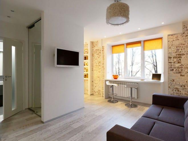 Căn hộ 22m² trang trí theo phong cách tối giản và đầy đủ chức năng cho vợ chồng trẻ - Ảnh 2.