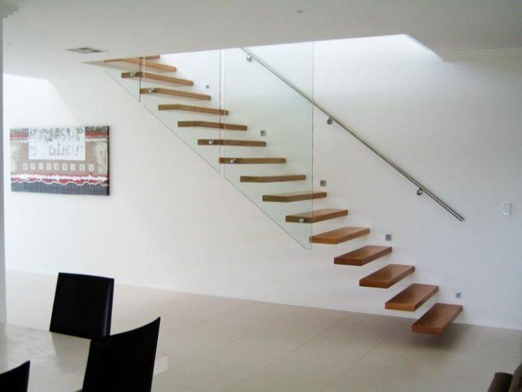 Cầu thang không tay vịn - kiểu cầu thang đẹp xuất sắc cho nhà hiện đại - Ảnh 10.