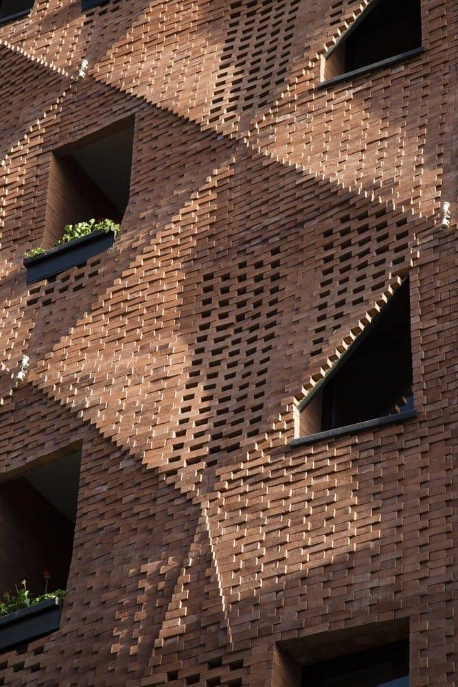 """Ấn tượng tòa nhà """"màn gạch màu"""" Woof Shadow"""