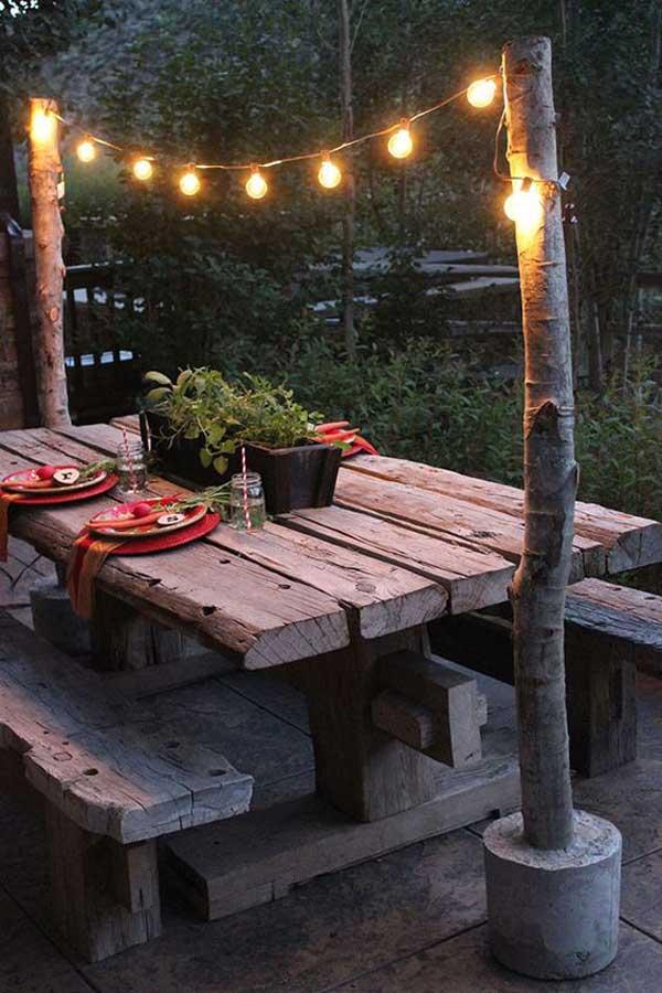 Góc sân vườn đón thu đẹp dịu dàng và lãng mạn khi được trang trí theo phong cách Bohemian - Ảnh 16.