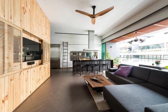Chủ nhà làm tới 3 khu bếp trong căn chung cư Singapore