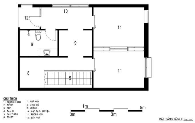 Nhà 2 tầng chỉ tốn 500 triệu ở Bình Dương