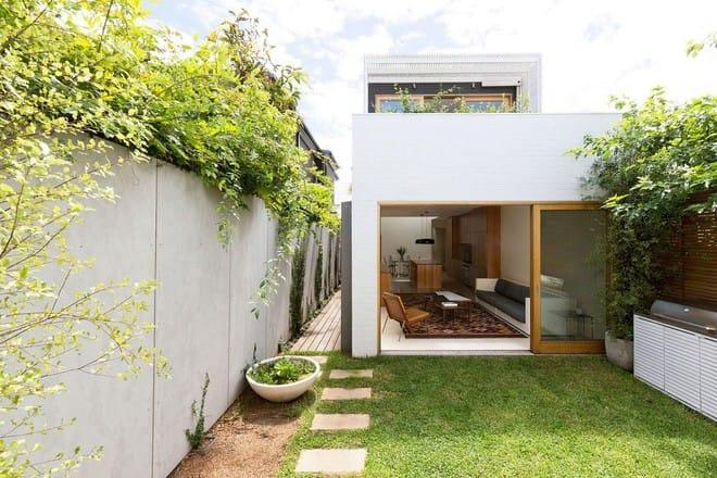 Ngôi nhà đặc biệt có không gian mở kết nối với thiên nhiên, nội thất tối giản nhưng vô cùng hiện đại - Ảnh 1.
