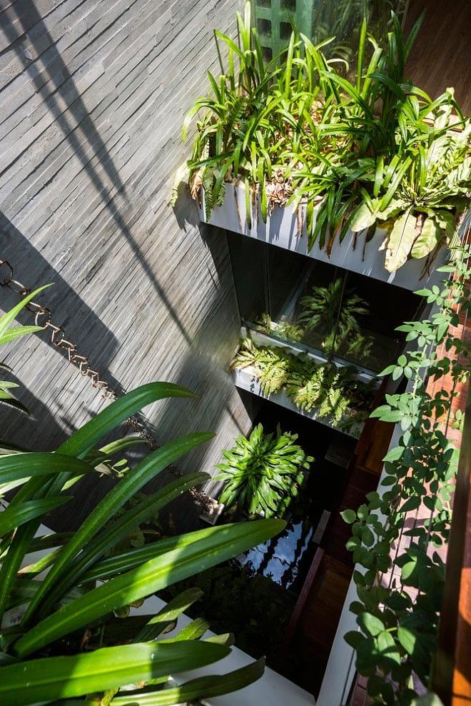 Căn nhà Việt gây ngỡ ngàng vì có công viên tuyệt đẹp trên sân thượng và ngay giữa nhà - 6