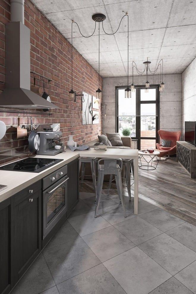 Hai căn hộ 35m² với phong cách trang trí công nghiệp nhưng lãng mạn đến khó tin - Ảnh 2.