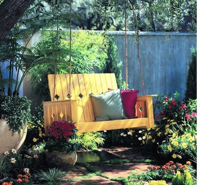 7 ý tưởng trang trí sân vườn đơn giản mà đẹp không chê vào đâu được - Ảnh 4.