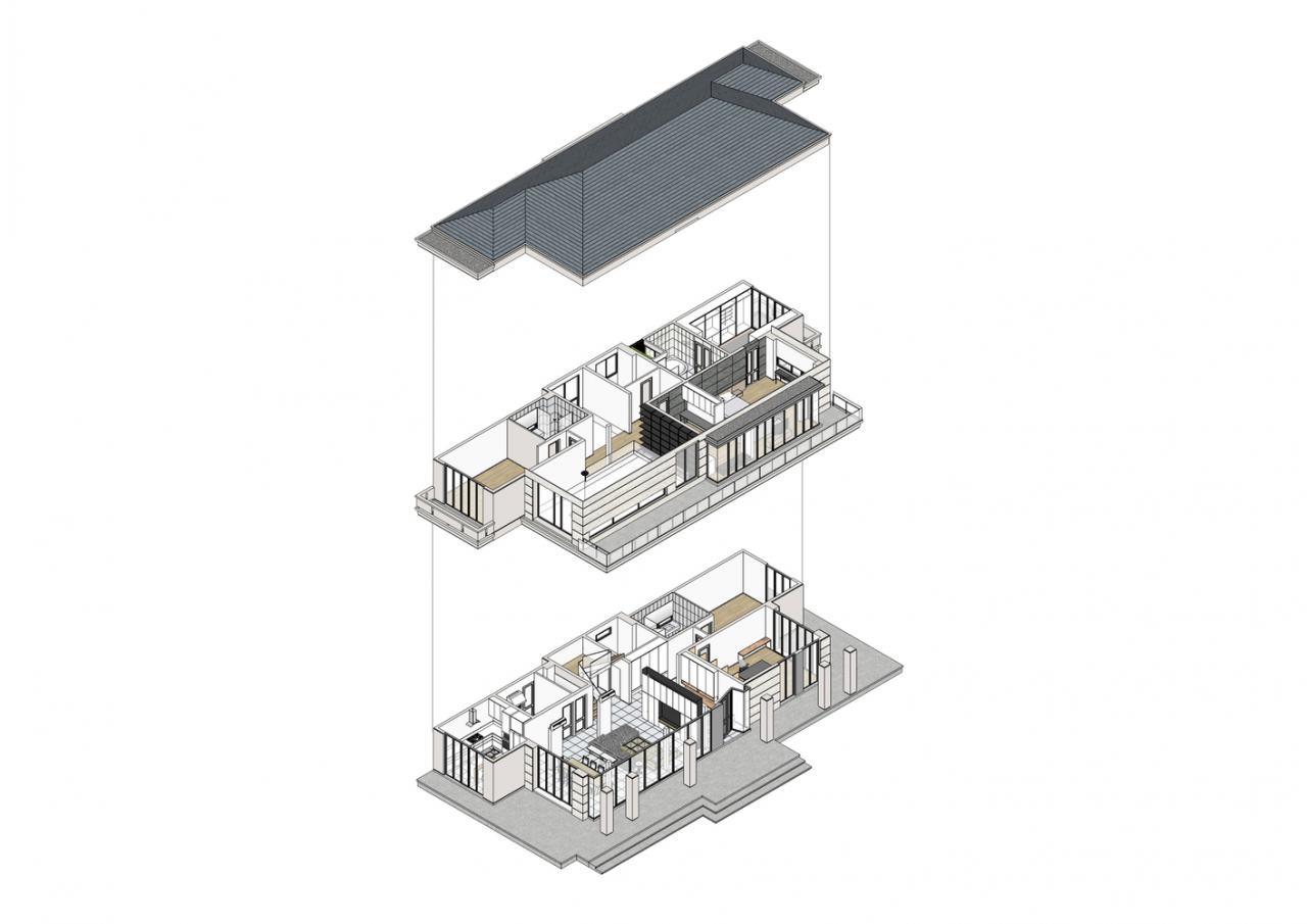 Intamara 29 House,Exploded Axonometric