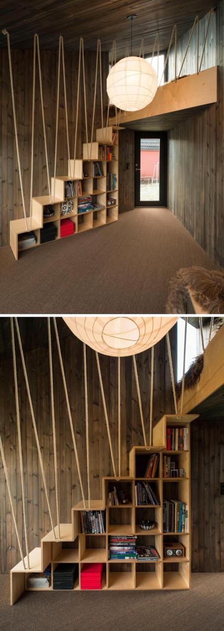 Không gian sống của gia đình thêm đẹp với mẫu cầu thang dây vô cùng độc đáo - Ảnh 3.