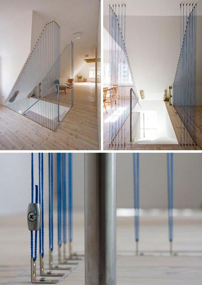 Không gian sống của gia đình thêm đẹp với mẫu cầu thang dây vô cùng độc đáo - Ảnh 6.