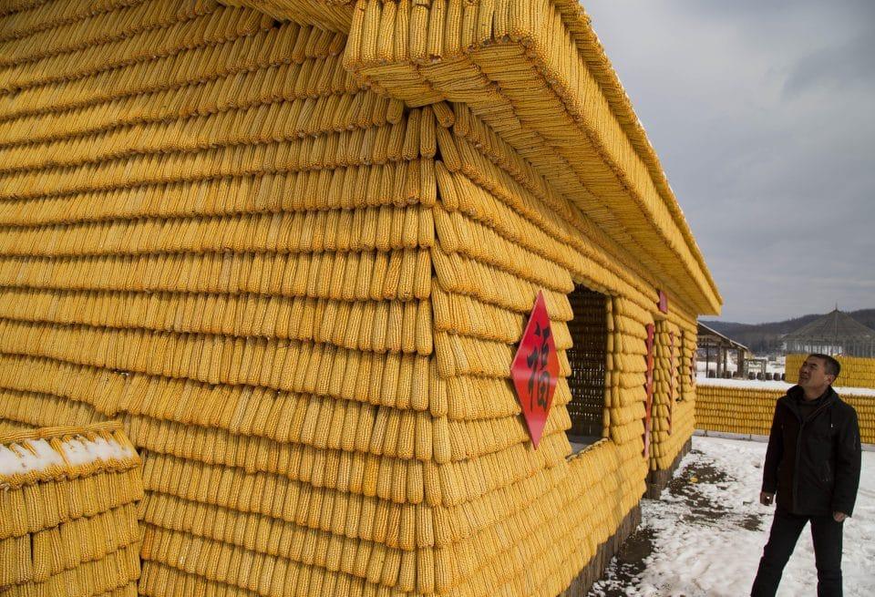 """Lão nông tự bỏ tiền xây nhà từ 30.000 bắp ngô vàng óng khiến dân tình """"choáng váng"""" - 8"""