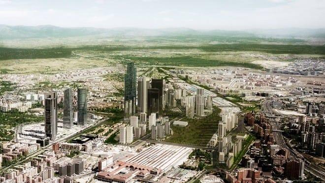 <strong>Tái xây dựng khu vực Castellana Norte &#8211; Madrid, Tây Ban Nha</strong>
