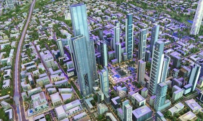 <strong>New Cairo Capital &#8211; Thủ đô Cairo, Ai Cập</strong>