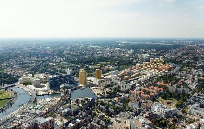 <strong>Europacity &#8211; Berlin, Đức</strong>