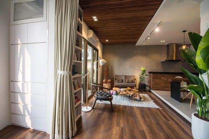 Căn hộ Hà Nội 68 m2 đón nắng gió ở mọi góc sau khi sửa
