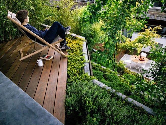Sau cải tạo, sân vườn kiểu ruộng bậc thang này khiến ai cũng tròn mắt ngưỡng mộ - Ảnh 13.