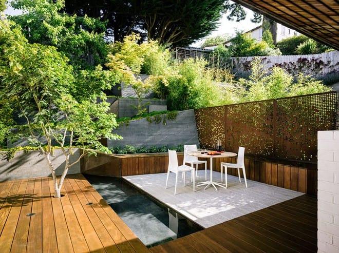 Sau cải tạo, sân vườn kiểu ruộng bậc thang này khiến ai cũng tròn mắt ngưỡng mộ - Ảnh 3.