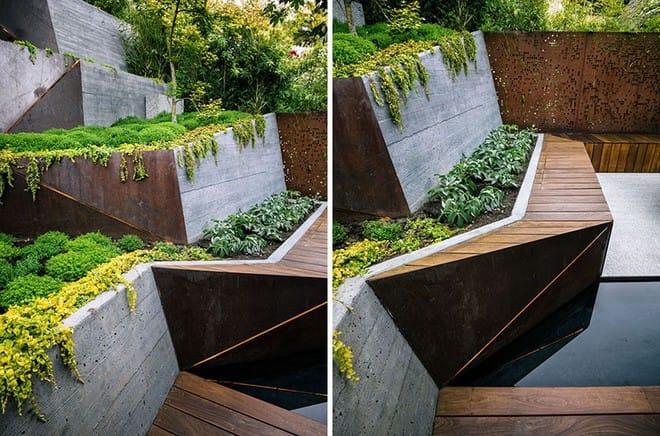 Sau cải tạo, sân vườn kiểu ruộng bậc thang này khiến ai cũng tròn mắt ngưỡng mộ - Ảnh 6.
