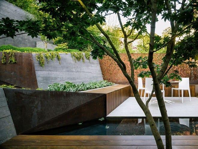 Sau cải tạo, sân vườn kiểu ruộng bậc thang này khiến ai cũng tròn mắt ngưỡng mộ - Ảnh 7.