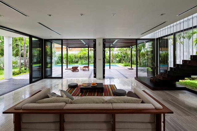 Thay tường thô cứng bằng vườn treo, biệt thự Việt đẹp ngỡ như ở trời Tây - 9