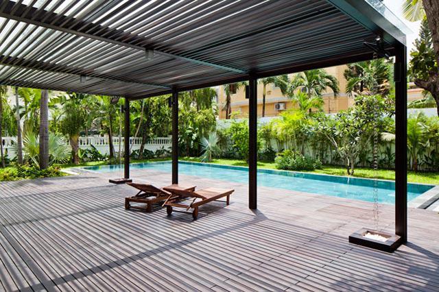 Thay tường thô cứng bằng vườn treo, biệt thự Việt đẹp ngỡ như ở trời Tây - 12