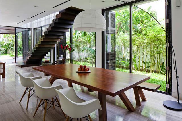 Thay tường thô cứng bằng vườn treo, biệt thự Việt đẹp ngỡ như ở trời Tây - 14