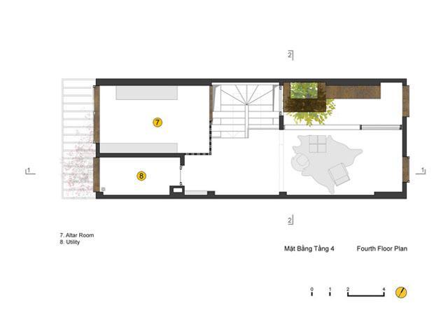 Ngôi nhà ở Đống Đa nổi bật trên báo Mỹ nhờ kiến trúc đáng học hỏi - 10