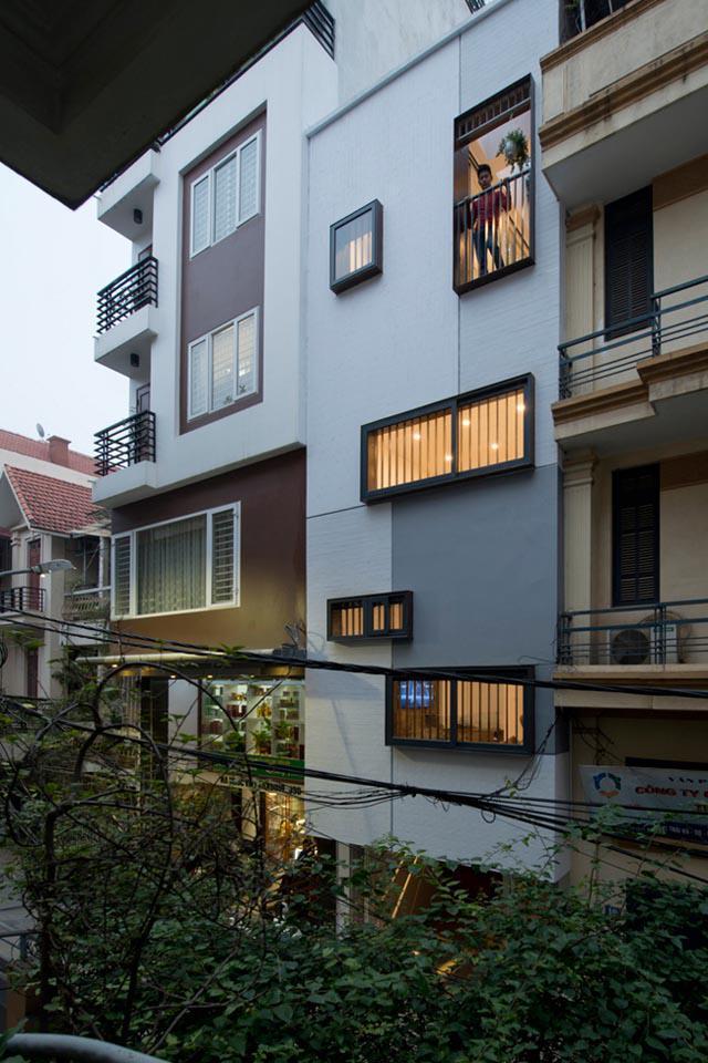Ngôi nhà ở Đống Đa nổi bật trên báo Mỹ nhờ kiến trúc đáng học hỏi - 2
