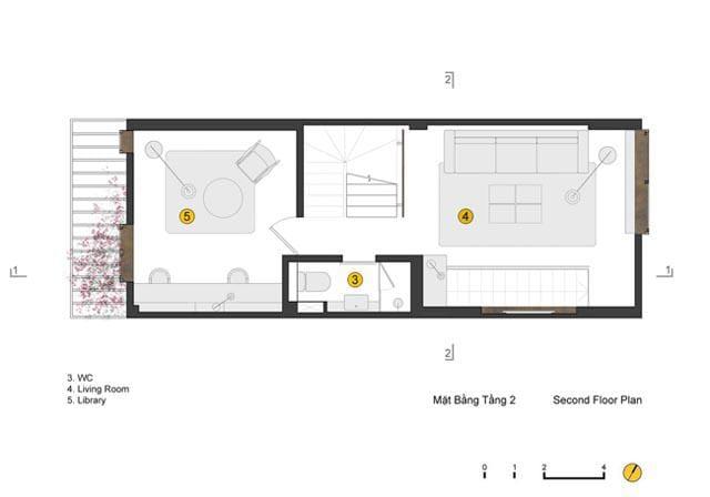 Ngôi nhà ở Đống Đa nổi bật trên báo Mỹ nhờ kiến trúc đáng học hỏi - 7