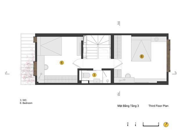 Ngôi nhà ở Đống Đa nổi bật trên báo Mỹ nhờ kiến trúc đáng học hỏi - 9